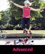 Advanced skating lessons