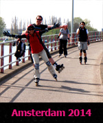 Amsterdam 2014 skating trip