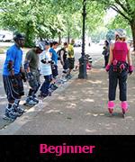 Beginner skating lessons