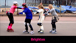 Skating lessons in Brighton
