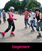 Improver skating lessons