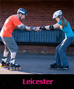 Skating lessons in Leicester