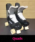 Skating lessons on Quad skates
