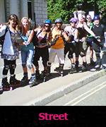 Street skating lessons