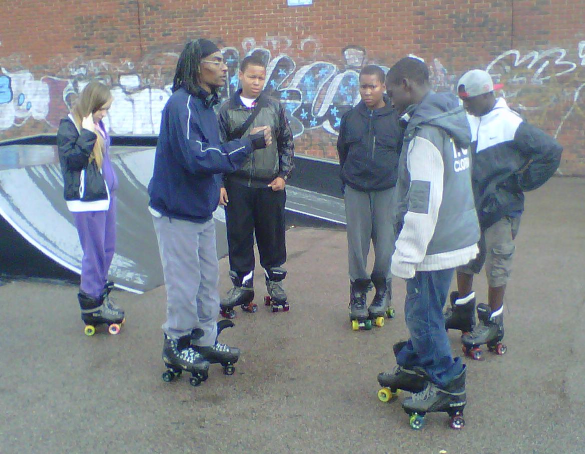 Skatefresh gets kids skating in Lewisham