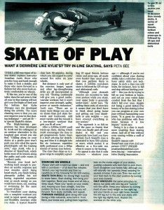 The Times article Skatefresh Skate of Play