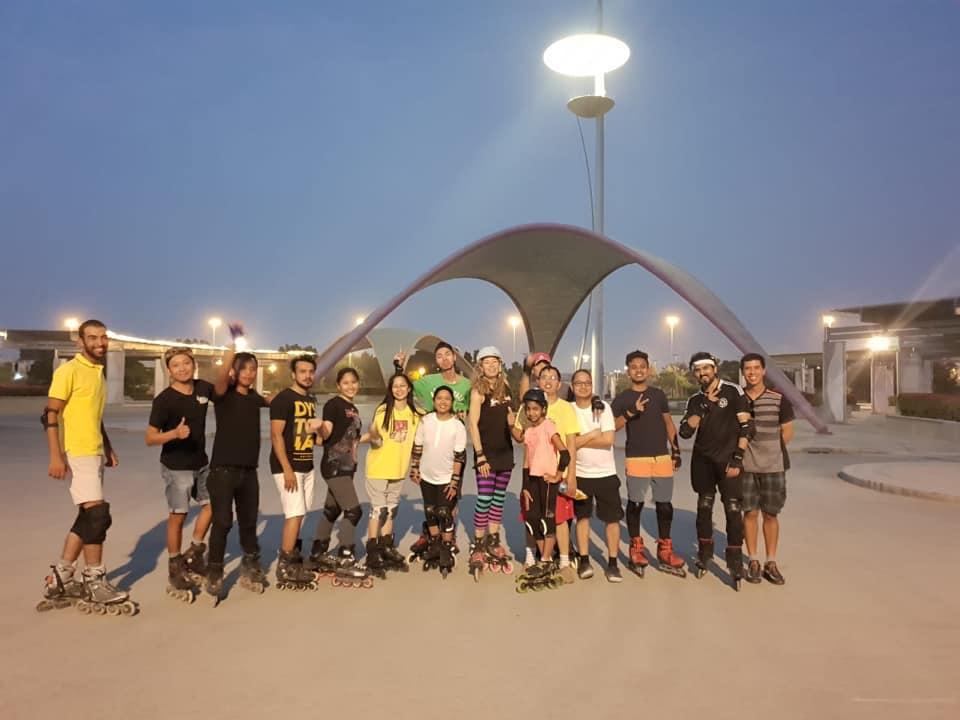 Dubai & Abu Dhabi..What a great start to my World Teaching Tour!