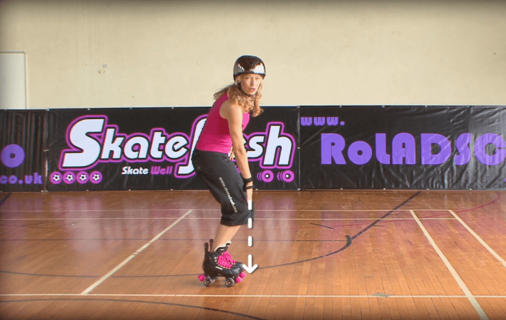 How to quad skate for beginner online course - Skatefresh Asha