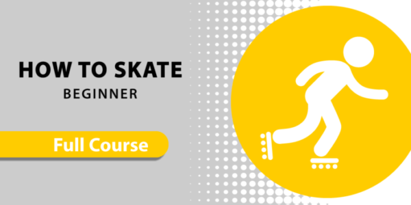 How to inline skate for beginner online course - Skatefresh Asha