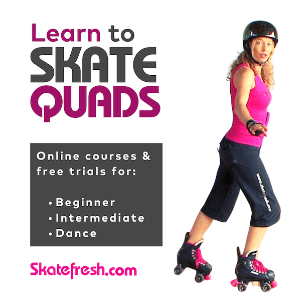 How to get started with quad skating - Skatefresh Asha virtual skate school
