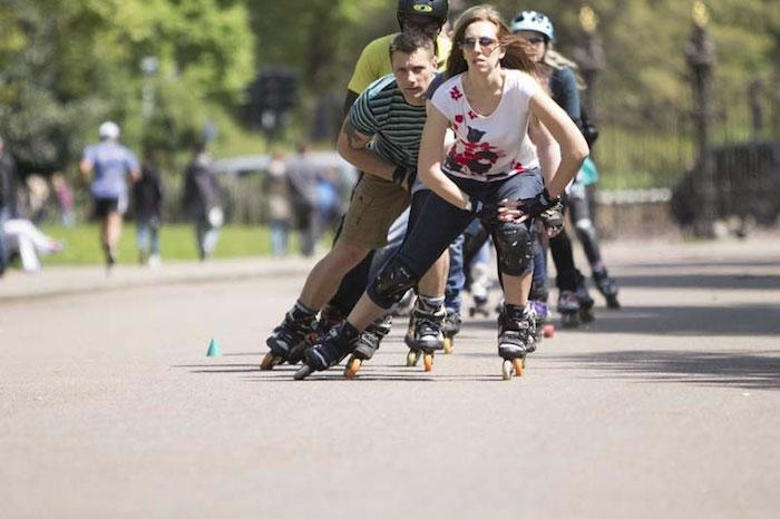 Inline skating for fitness with Skatefresh online skate school