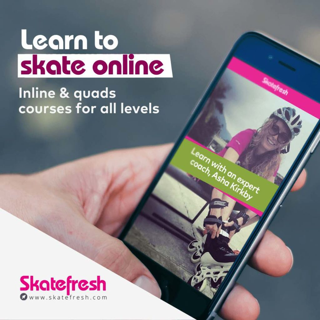 Learn to skate online with Skatefresh
