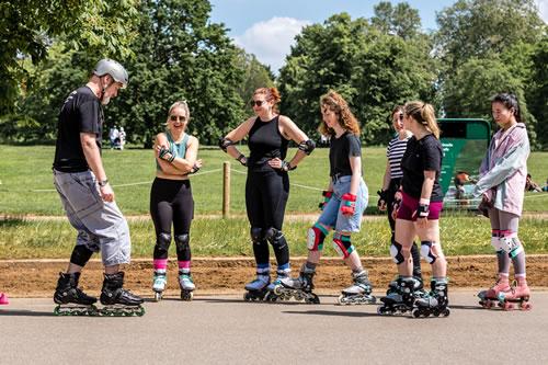 beginner skate lessons London